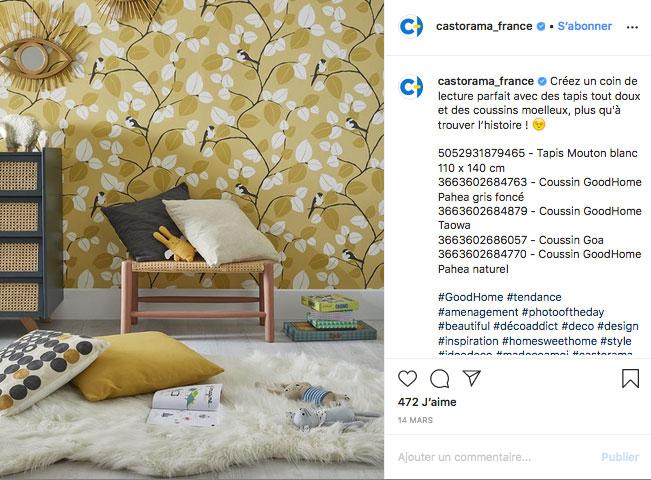 publicationn-instagram-castorama-communication-coronavirus